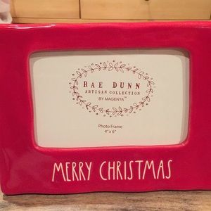 "Rae Dunn ""Merry Christmas"" picture frame"